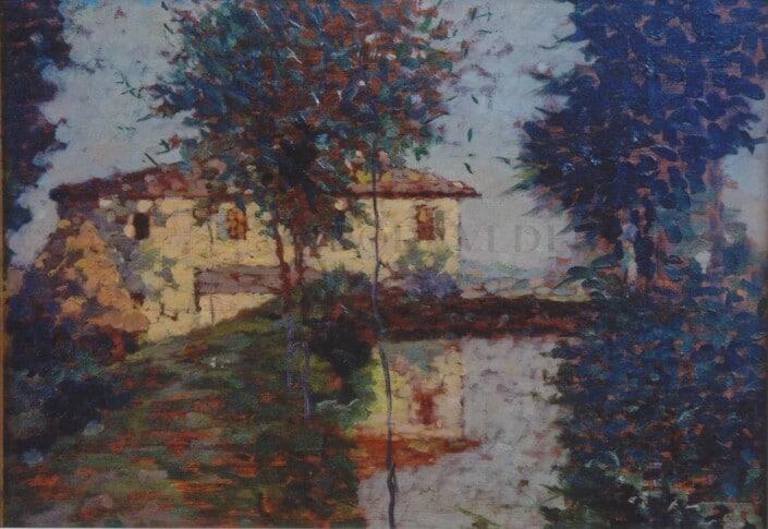 Flavio Bertelli - Casa con macero
