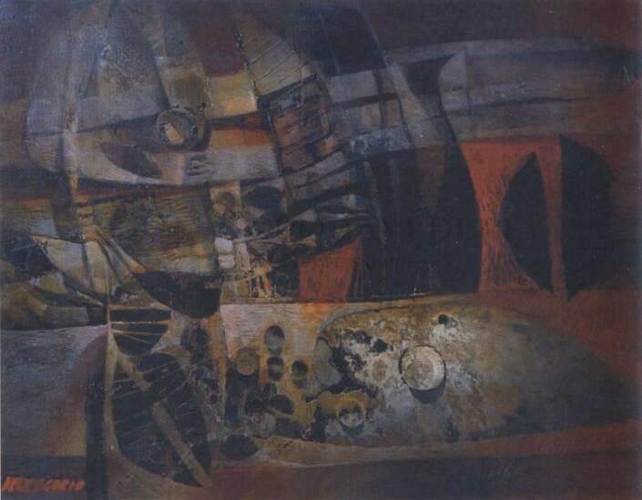 Giuseppe De Gregorio - Rottame di barca