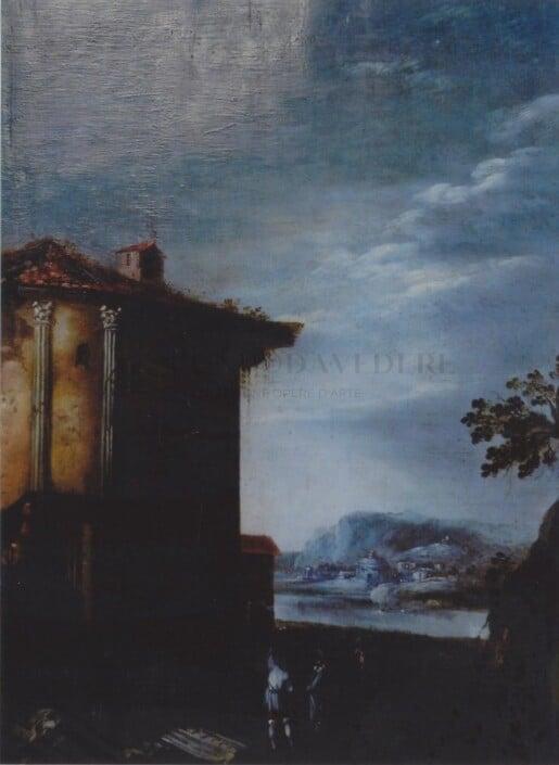 Ignoto - Paesaggio del 700
