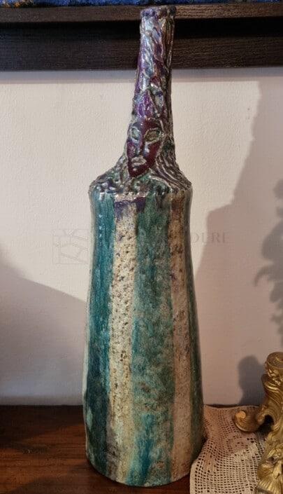 melandri bottiglia in ceramica