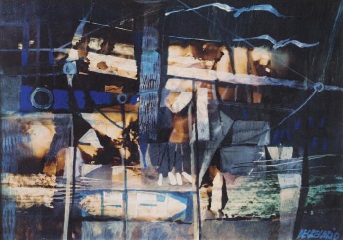 Giuseppe De Gregorio - Pesca con bilancia
