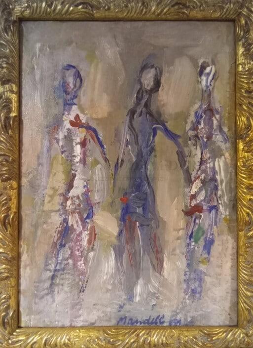 Pompilio Mandelli - Tre figure