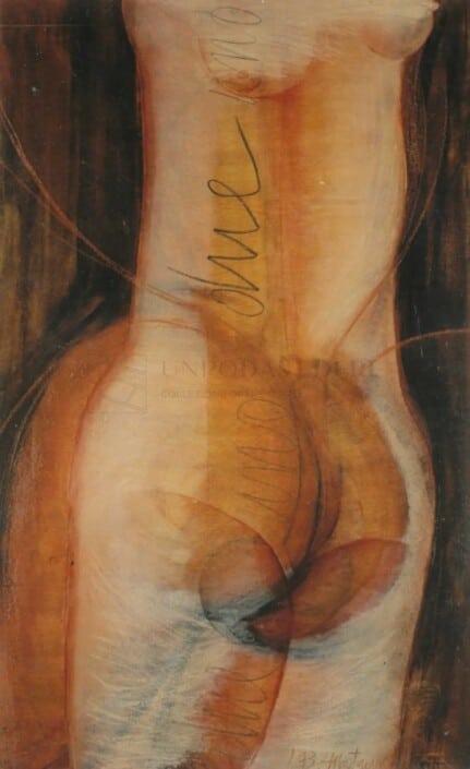 ROSARIA MATARESE - 1° androgino... due in uno... rebis, 1993
