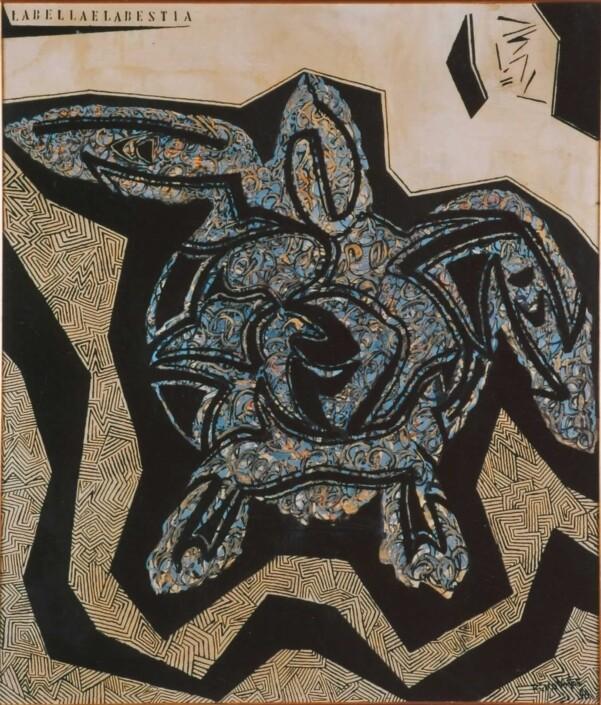 Rino Volpe - bella e bestia
