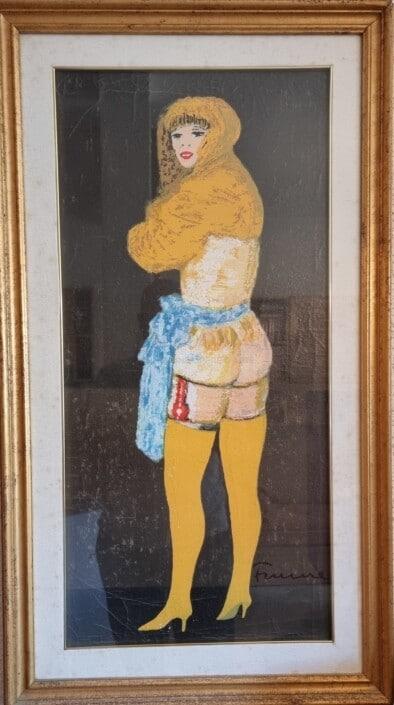 Salvatore Fiume - nudo