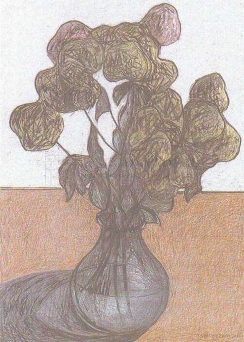 Toni Zarpellon - Vaso con Ortensie