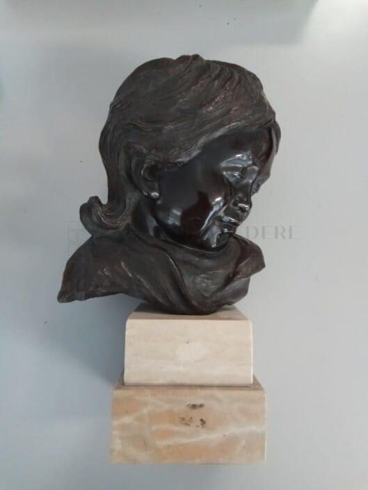 Vincenzo Cinque - Putto in bronzo